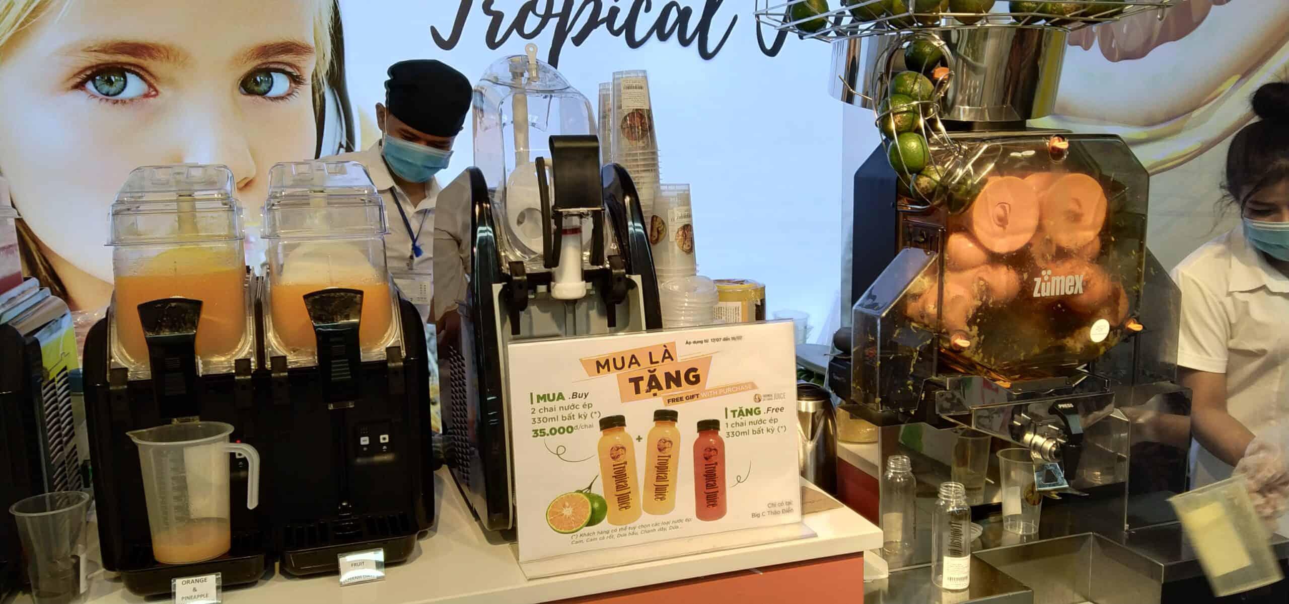 Tropical Juice Big C Thảo Điền 1