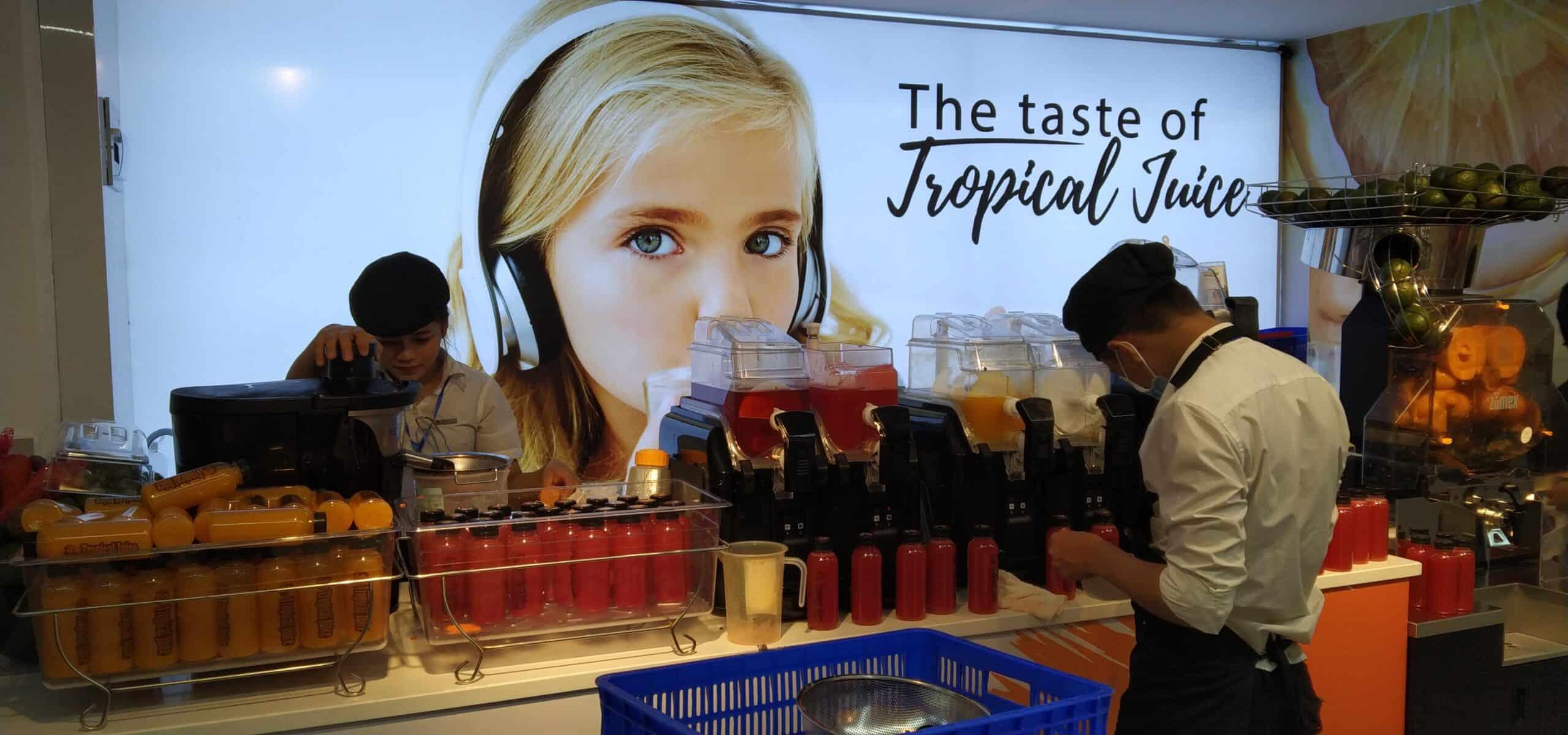 Tropical Juice Big C Thảo Điền